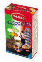 Sanal Snacks Rongeurs Gouttes de Tricolores