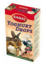 Sanal Snacks Rongeurs Gouttes de Yahourt