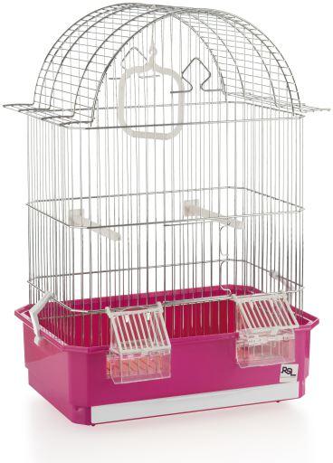Cage Ref. 1072 Blanche Argenté