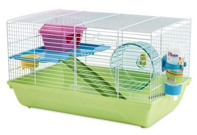 Double Martha Hamster cage 46X29X26