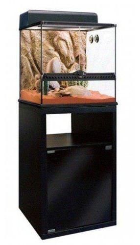 Exo Terra Mesa Peq.p / table en verre 46,5X46,5X90
