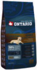 Ontario Dog Low Activity Lamb 2,5kg