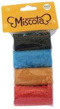 Miscota Sacs en Plastiques à Excrément - 80 Sacs